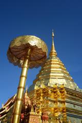 Doi Suthep Temple Famous Temple in Chiang Mai Province, Thailand