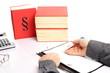 Buchhaltung mit Unterlagen