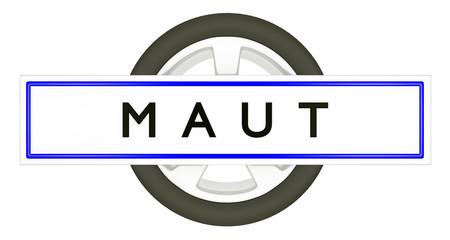 MAUT - KFZ Kennzeichen & PKW Rad