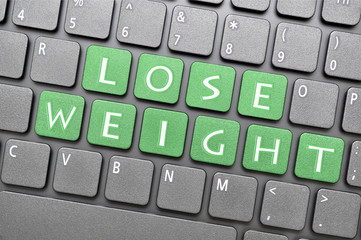 Lose weight key on keyboard