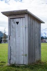Holztoilette