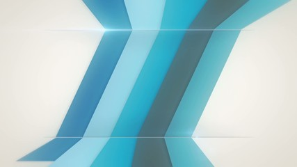 infographics background with diagonal blue lines, loop