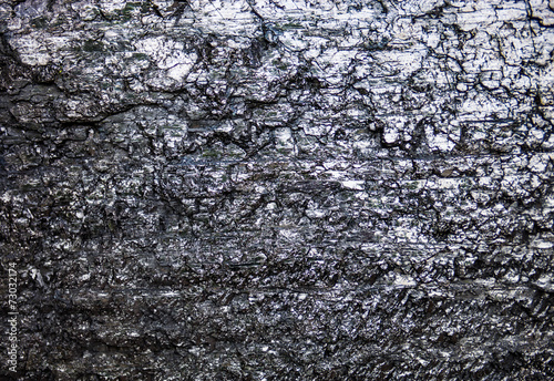 The surface of the black coal - 73032174