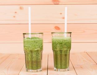 tasty kiwi juice