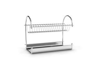 empty dishwares holder.