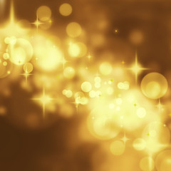 abstract golden stars background luxury Christmas holiday, weddi