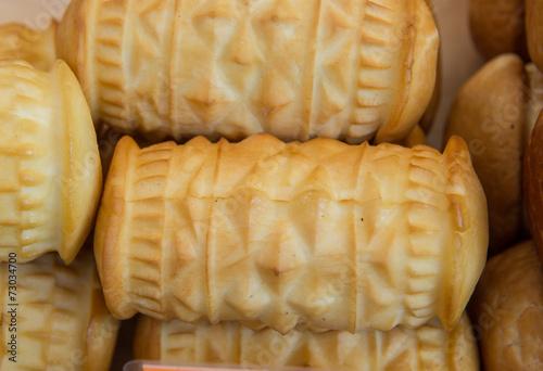 polish smoked cheese made of salted sheep milk called oscypek - 73034700