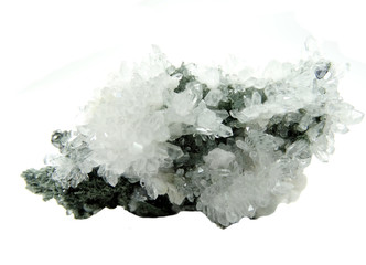 rock crystal geode geological crystals