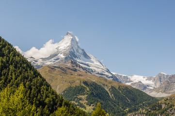 Zermatt, Dorf, Findelschlucht, Wallis, Alpen, Sommer, Schweiz