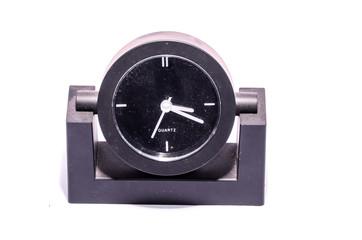 Modern Style Black Alarm Clock