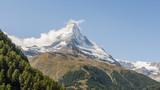 Zermatt, Bergdorf, Trockener Steg, Bergbahnen, Alpen, Schweiz