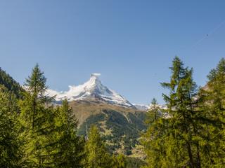 Zermatt, Bergdorf, Bergtal, Walliser Berge, Alpen, Schweiz