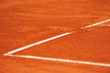 Baseline footprint on a tennis court - 73037120