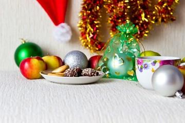 Christmas studio composition