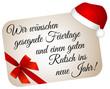 Frohe Weihnachten und einen guten Rutsch ins neues Jahr