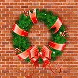 Fototapety Christmas Wreath