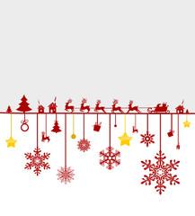 Weihnachten Elche Sterne