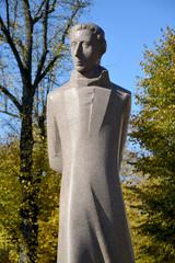 Monument fragment Lyudvikasu Reza (Ludwig Reza) (1776-1840) in K