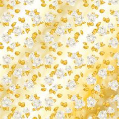 Rose e Bolle di sapone - Pattern3