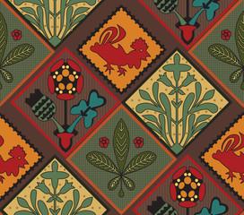 Italian Contry Tile Pattern