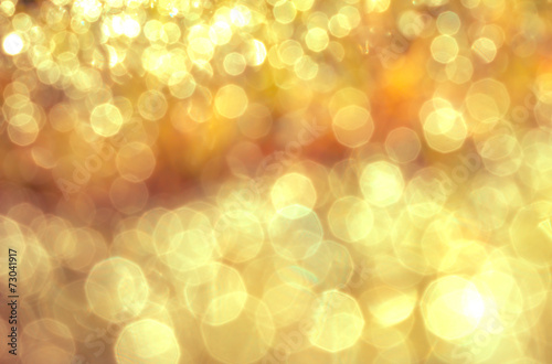 canvas print picture Abstract bokeh lighting background