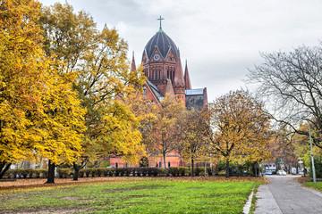 """Church """"Zum heiligen Kreuz"""" in Kreuzberg, Berlin"""