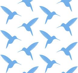 Hummingbird. Pattern