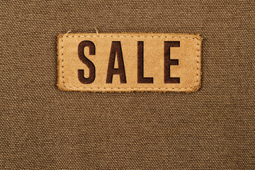 Sale Leather Label Tag