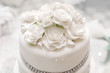 Wedding cake on light background - 73043999