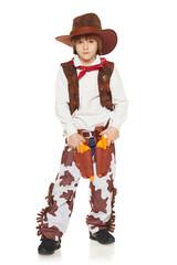 Little boy cowboy
