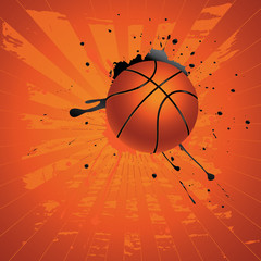 Grunge Basketball