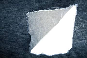 lacerated fabric