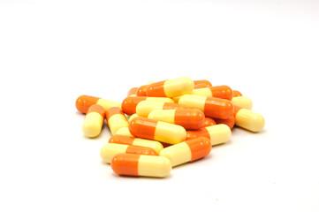 a handful of pill