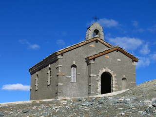 Chapel on the Gornergrat in Zermatt