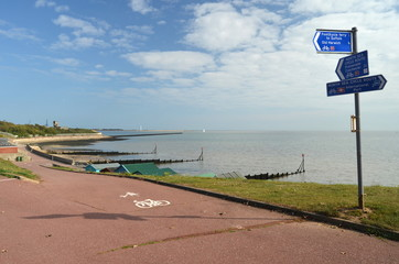 North sea cycle route, England