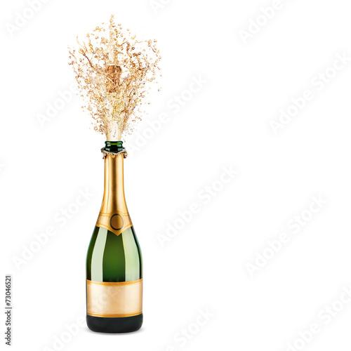 bottle of champagne - 73046521