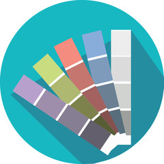 Color guide icon