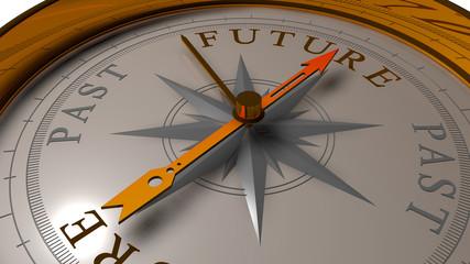 Future vs Past concept.