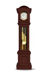 orologio a pendolo, orologio d'epoca, tempo