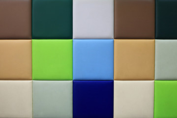 Colorful wall for textured background pattern