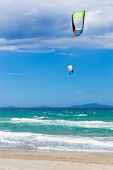 kite surf in Sardinia