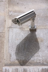 City surveillance camera technology