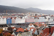 Colorful autumn in Bergen, Norway