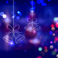 Jingle bells for Christmas decoration