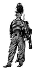 Militaria - 19th century - Horseman