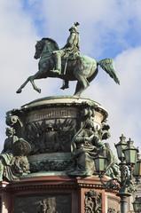 Памятник Николаю I в Санкт-Петербурге, Россия