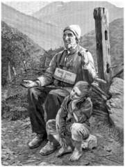 Poor Blind Beggar - Mendiant Aveugle