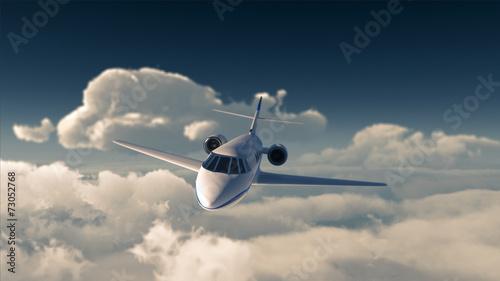 Leinwanddruck Bild Private jet