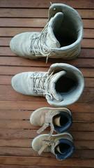 Schuhe Vater sohn