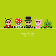 Ladybeetle, Fly Agaric, Chimney Sweeper, Pig & Clover Sunglasses